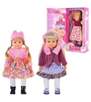"Кукла ""Наташа"" T 23 D 401-2-3/MY 071-3"