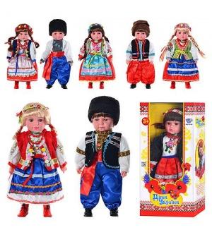 """Кукла M 2132 UI """"Дiти України"""" Катеринка и Олесь"""