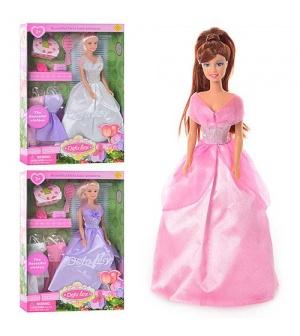 Кукла DEFA 8071 с нарядами, в кор-ке