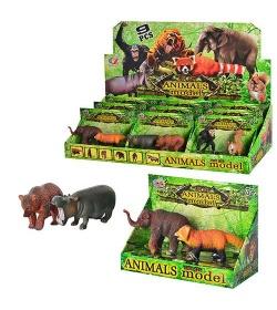 Животные Q 9899-181 дикие, 2 шт в кор-ке, 9 шт в дисплее