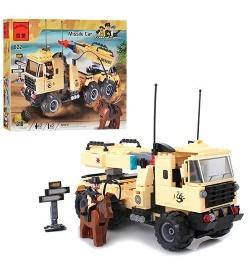 """Конструктор BRICK 822b """"Машина с ракетной установкой"""""""