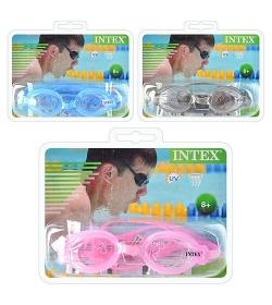 Очки для плавания 55683sh  (12шт) INTEX