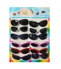 Очки солнцезащитные MK 0594-2 в кульке (12 шт на листе)