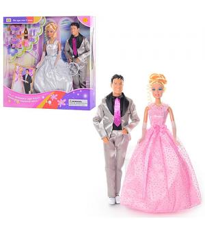 Кукла DEFA 20991 жених и невеста, в кор-ке