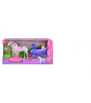 Карета 38386 кукла, лошадка, в кор-ке