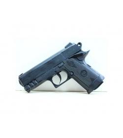 Пистолет ES 442-0119 PB (432шт) на пульках, в кульке, 14-9,5-3см
