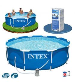 Бассейн каркасный 28202 (1шт/ящ)  INTEX