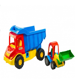 """Грузовик 39219 с трактором Multi truck """"Тигрес"""""""