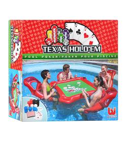 Набор для игры в покер на воде 43096 (4шт/ящ)  BESTWAY