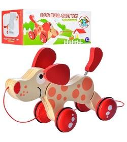 Деревянная игрушка Каталка MD 0988 (50шт)