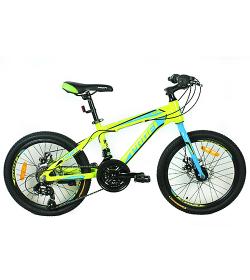 Велосипед 20 д. G20HARDY A20.1 (1шт/ящ),салат.-голуб.