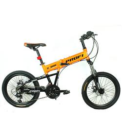 Велосипед 20 д. G20RIDE-B A20.3 (1шт/ящ), оранжев