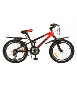 Велосипед 20 д XM204B (1шт/ящ) красно-черный