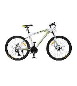 Велосипед 26 д. G26HARDY A26.3 (1шт/ящ) бело-салатов.