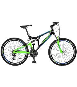 Велосипед 26 д.GW26LASTING A26.1 (1шт/ящ) черно-зеленый