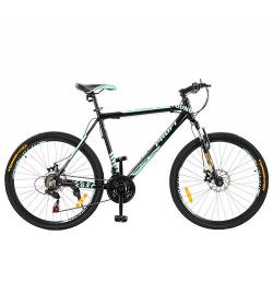 Велосипед 26д. G26YOUNG A26.3L (1шт/ящ) черн.-мята
