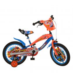 Велосипед PROFI RACING детский 16д. SX 16-01-R (1шт/ящ) сине-оранжевый