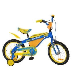 Велосипед PROFI UKRAINE детский 16д.16 BX 405 UK желто-голубой(1шт/ящ)