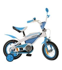 Велосипед PROFI детский 12д. 12BX405-1 (1шт/ящ) бело-голубой