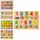 Деревянная игрушка Рамка-вкладыш MD 0646 (144шт)