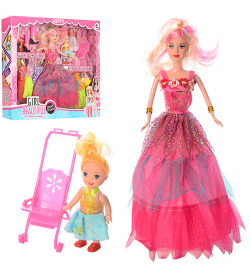 Кукла 661-3 (36шт) в коробке