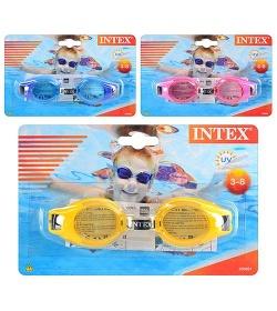 Очки для плавания 55601sh (12шт) INTEX