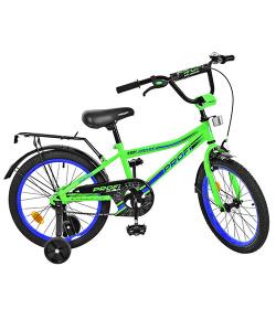 Велосипед детский PROF1 18д. L18102 (1шт/ящ) Top Grade, салатовый
