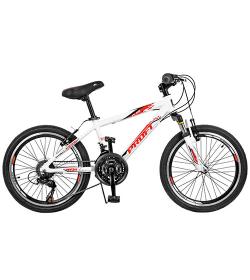 Велосипед 20 д. GW20PLAIN A20.1 (1шт/ящ) белый