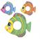 Круг 36111sh (36шт) рыбка, BESTWAY