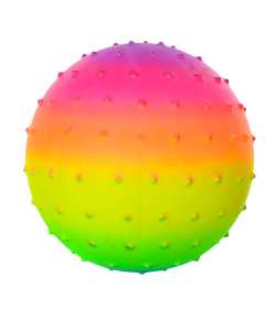 Мяч массажный MS 0939 радуга