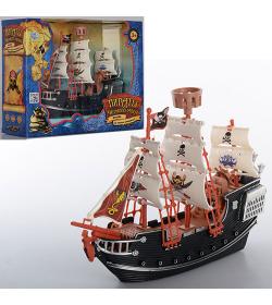Набор Пиратов М 0512 R/U (36шт.) в кор-ке,29-23-10см