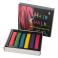 Косметика C20536 (100шт) мелки для окрашивания волос,6 цветов, в кор-ке,10-8,5-1,5см
