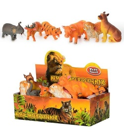 JT Животные 7215 дикие (12 шт)