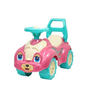 Автомобиль для прогулок 0823 ТехноК, розовый