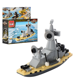 Конструктор BRICK 1224 Военный корабль