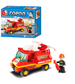 Конструктор SLUBAN M 38 B 0173 Пожарная машина