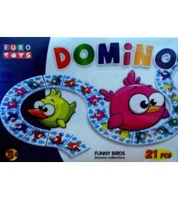 """Домино 30168 фигурное """"EUROTOYS"""" """"FUNNY MONSTERS"""""""