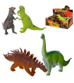 Динозавр 7211 (1уп/12шт) Антистресс, в дисплее