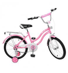 Велосипед детский PROF1 18д. L1891 (1шт/ящ) Star, розовый