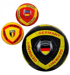 Мяч футбольный-5 EV 3285 Страны, в кульке