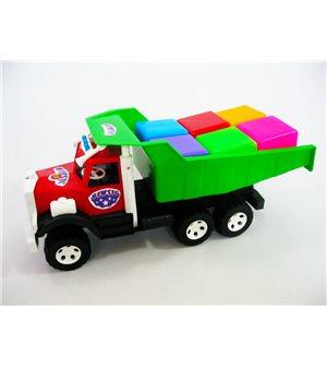 Грузовик Фарго с кубиками 0217f
