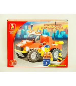 """Конструктор """"Пожарная техника"""" SLUBAN M 38 B 0217 R"""