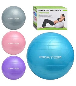 Мяч для фитнеса M 0275 R/U