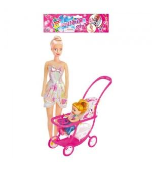 Кукла 339-1 с коляской, 2 шт