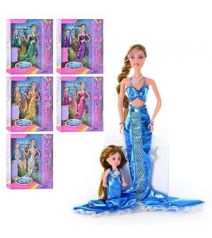 Кукла DEFA 20978 русалки 2 шт, аксессуары