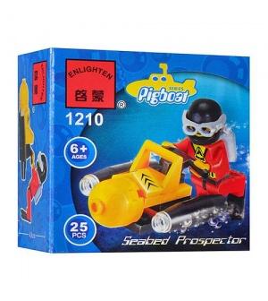 """Конструктор BRICK 1210 """"Подводный катер"""""""