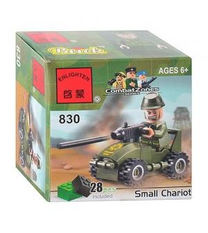 "Конструктор BRICK 830 ""Пулеметчик"""