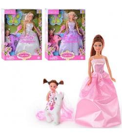 Кукла DEFA 8077 с дочкой и лошадкой