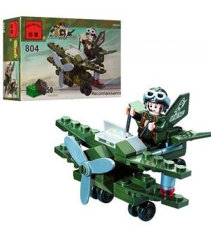 """Конструктор BRICK 804 """"Самолет-разведчик"""""""