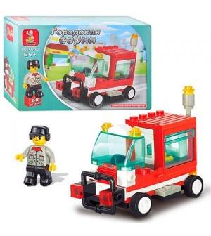 Конструктор SLUBAN M38-B0180 пожарная машина